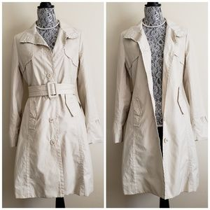 MOSSIMO All Weather Khaki Trench Coat / Raincoat